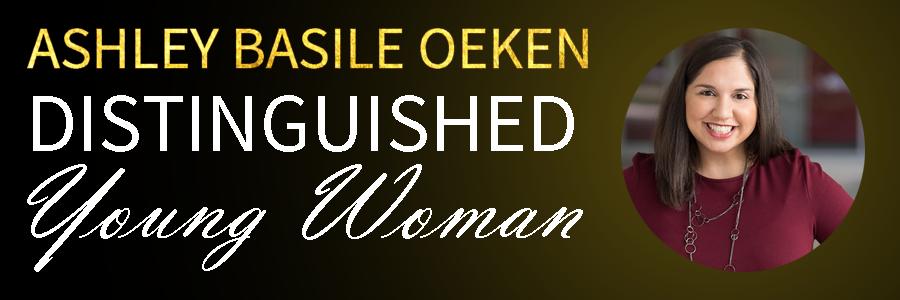 Ashley Basile Oeken Distinguished Young Woman